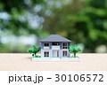新緑の中の住宅模型 30106572