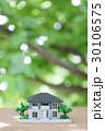 新緑の中の住宅模型 30106575