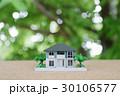 新緑の中の住宅模型 30106577