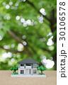 新緑の中の住宅模型 30106578