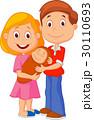 ベビー 赤ちゃん 赤ん坊のイラスト 30110693