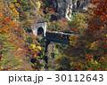 鳴子峡 トロッコ列車 列車の写真 30112643