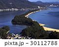 11月 晴天快晴の天橋立 日本三景 30112788