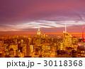 高層ビル 街 都会の写真 30118368