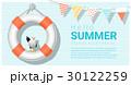 夏 かもめ 背景のイラスト 30122259