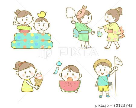 子供の夏 30123742