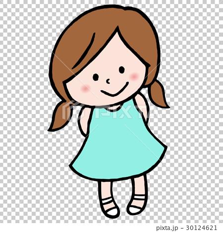 ワンピースを着た女の子 30124621