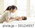 赤ちゃん 母子 スキンシップの写真 30124937