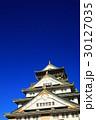 青空と大阪城 30127035