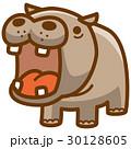 カバ ベクター 動物のイラスト 30128605