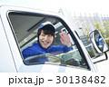 トラック 運転手 人物の写真 30138482