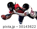 american football players men isolated 30143622