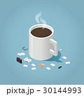 ベクトル コーヒー 時間のイラスト 30144993