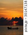 漁師 釣り人 釣人の写真 30147138