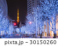 東京タワー けやき坂 イルミネーションの写真 30150260