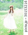 女性 花冠 ワンピースの写真 30153216