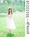 女性 花冠 ワンピースの写真 30153218