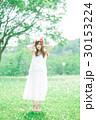 女性 花冠 ワンピースの写真 30153224