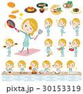 Schoolgirl Caucasian cooking 30153319