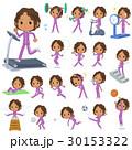 Black school girl  purple jersey Sports & exercise 30153322
