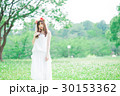女性 花冠 ワンピースの写真 30153362