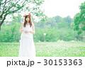 女性 花冠 ワンピースの写真 30153363