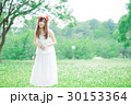女性 花冠 ワンピースの写真 30153364
