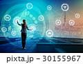 IoT ネットワーク 女性の写真 30155967