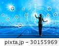 IoT ネットワーク 女性の写真 30155969
