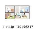 インテリア 住宅 家のイラスト 30156247