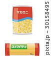 スパゲティとマカロニ【食材・シリーズ】 30158495