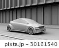 背景用グレーシェーディングのスポーツカーのイメージ 30161540