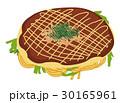 広島風お好み焼きのイラスト 30165961