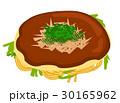 マヨネーズなしの広島風お好み焼きイラスト 30165962