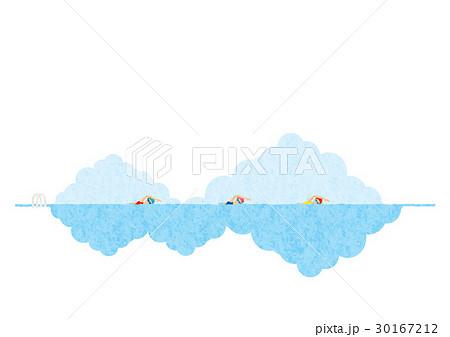 夏の風景(スイマー) 30167212