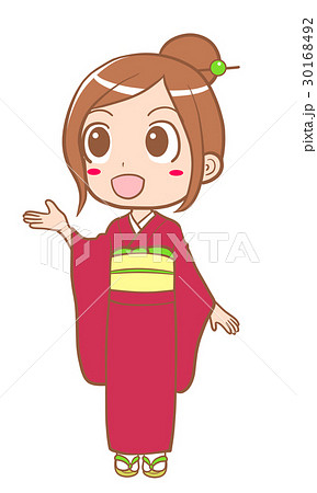 着物を着た女の子 30168492