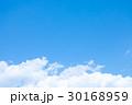 青い空 空 雲の写真 30168959