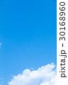 青い空 空 雲の写真 30168960