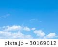 青い空 空 雲の写真 30169012