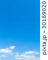 青い空 空 雲の写真 30169020