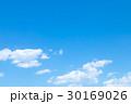 青い空 空 雲の写真 30169026