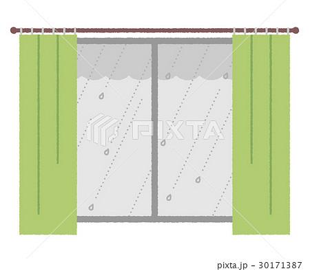 窓と雨 30171387