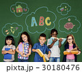 Happiness group of cute and adorable children education 30180476