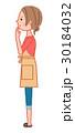 女性 人物 悩むのイラスト 30184032
