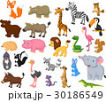 Wild animal cartoon collection 30186549