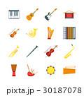 音楽 ミュージカル カラーのイラスト 30187078