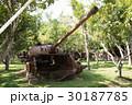 カンボジア シェムリアップ戦争博物館壊れた戦車 30187785