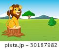 ライオン 獅子 マンガのイラスト 30187982
