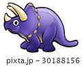 恐竜 トリケラトプス マンガのイラスト 30188156