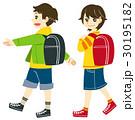 通学 ランドセル 男の子のイラスト 30195182